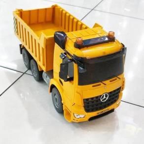 RC lorry dump truck full function Lori pasir