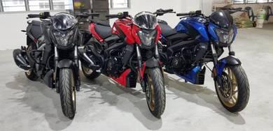 Modenas Dominar D400 cc Loan Kedai 100% lulus