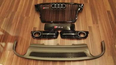 Audi RS4 Grille Grill