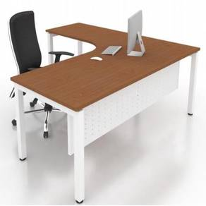 6x5ft Modern L Shape Table Desk OFMN1815L kepong