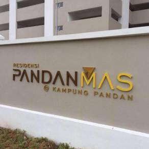 Pandanmas 2 residences partial furnish