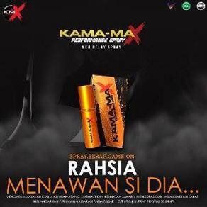 Kamamax spray free cod free pos ke seluruh msia