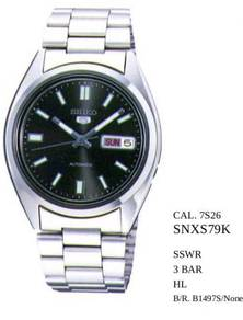 Seiko 5 Automatic SNXS75K1 Men's Watch