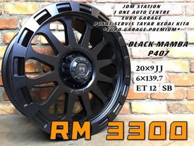 Black mamba p407 20inc ford ranger fj cruiser dmax