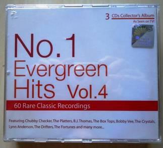 IMPORTED CD No.1 Evergreen Hits Vol.4 3CD
