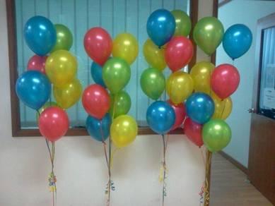 Balloon helium gas seremban
