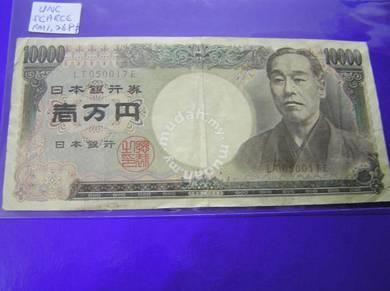 Duit Jepun 10000 yen Tahun 1993