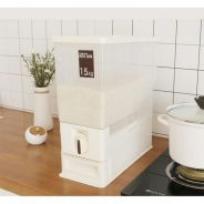 Rice dispenser 15kg / bekas beras 12
