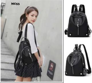 Korean fashion casual backpack handbag