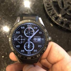 Tag Heuer Connected Titanium Mens Smart Watch