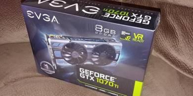 EVGA GeForce GTX 1070 Ti FTW2 DDR5 8gb