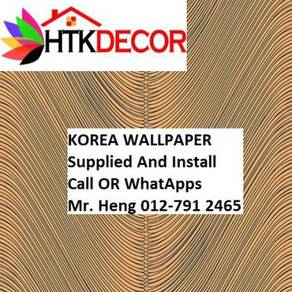 Simple Design With Wall paper with Install 0435W