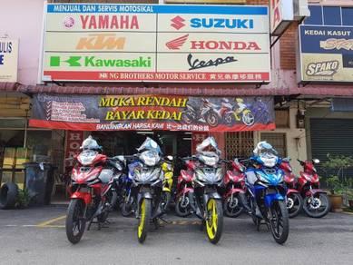 Yamaha lc 135 lc135 Wang Muka Hanya Lima Ratus