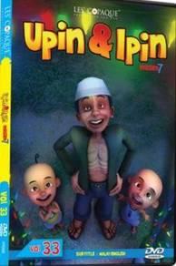 DVD UPIN Dan IPIN Musim 7 Vol.33