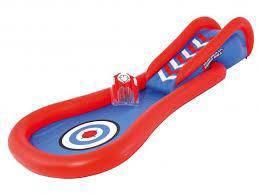 Joshua pool with slide