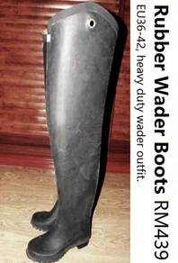 Rubber Latex Wader Boots