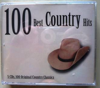 IMPORTED CD 100 Best Country Hits Original Country