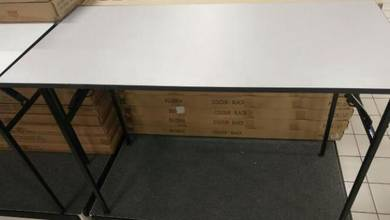 Meja lipat 4x3 feet baru