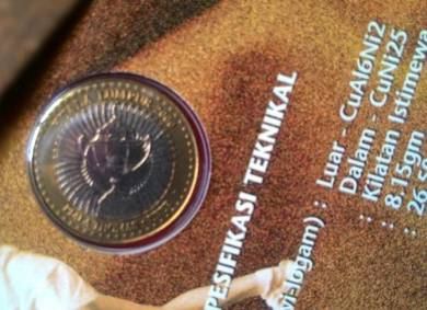 Dy 2000 Malaysia Thomas Cup Moments Coin Card