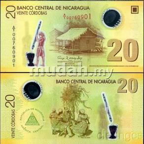 Nicaragua 20 Cordobas 2009-13 P New Polymer UNC