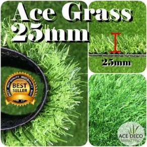 Premium 25mm Artificial Grass / Rumput Tiruan 50