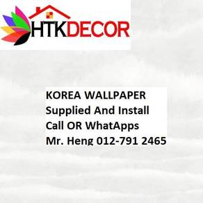 Install Wall paper for Your Office 473W