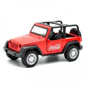 Coca Cola Mini Jeep Off Road Truck Diecast Car