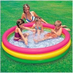 INTEX Ring Kids Swimming Pool Rainbow
