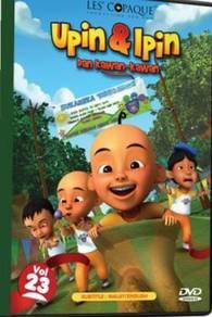DVD UPIN Dan IPIN Dan Kawan Kawan Vol.23