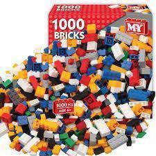 1000 Unit DIY Lego Brick