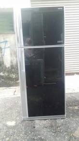 Toshiba Peti Sejuk Ais Black Freezer Refrigerator
