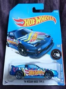 Hotwheels '96 Nissan 180sx Blue not Tomica