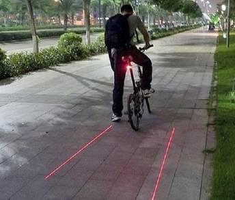 Lampu Laser Untuk Basikal