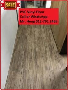 Wood Look PVC 3MM Vinyl Floor y7u