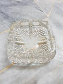 Antique crystal astray