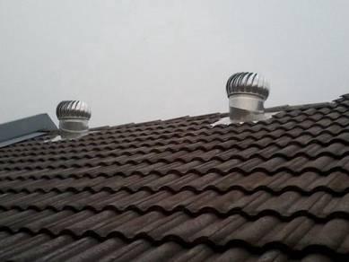 KEDAH Wind Turbine Ventilator & FREE Air Vents