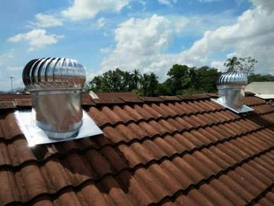 TERENGGANU Wind Turbine Ventilator FREE Air Vents