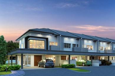 LOW BOOKING FEE Double Storey Terrace House at Moyan
