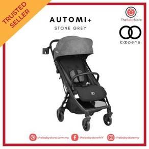 Koopers Automi+ Auto-fold Stroller - Stone Grey