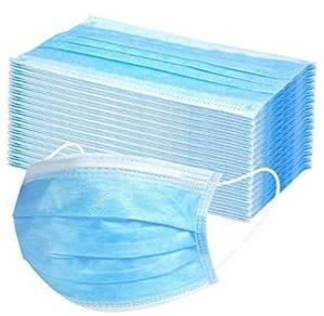 50PCS 3PLY Disposable Face Mask