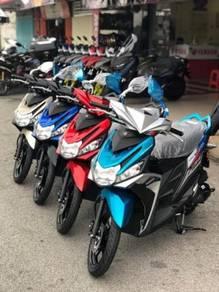 2021 Yamaha Ego Solariz 125 promosi BMM