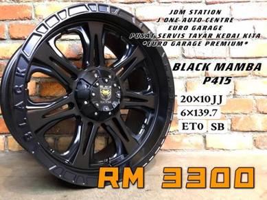 Black mamba p415 20inc ford ranger triton dmax