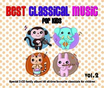 IMPORTED CD Best Classical Music For Kids Vol.2
