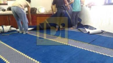 Karpet masjid harga murah, carpet promosi