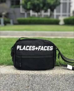 Men slingbag places + faces
