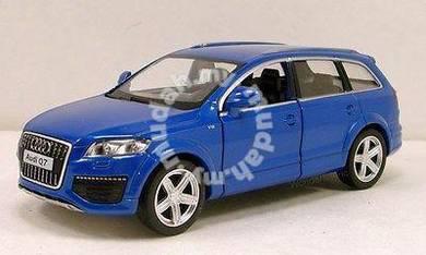 AUDI Q7 1/36 Diecast model - Blue