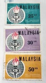 Setem Malaysia 1964 - Set X51
