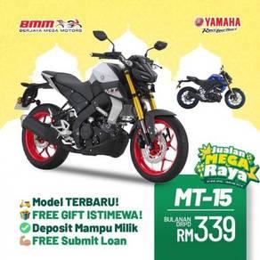 2021 Yamaha Mt-15 mt150 mt15 JUALAN MEGA RAYA BMM