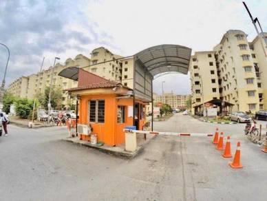 RENO CANTIK Apartment Subang Suria Bestari U5 Shah Alam HARGA NEGOO