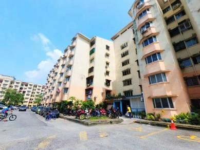 TERMURAH Apartment Subang Suria Bestari U5 Shah Alam RENO CANTIK